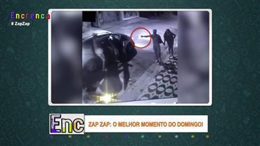 Assaltantes tentam roubar pedestres mas levam susto