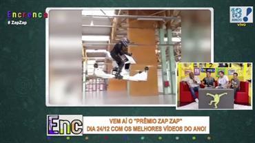 Zap Zap: Homem testa 'moto voadora'