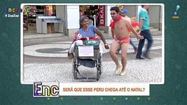 'Dança do Peru' vira febre nas ruas do Brasil