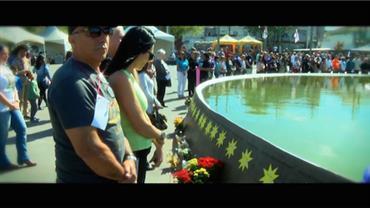 Vítimas de tragédia da TAM são homenageadas em cerimônia emocionante