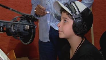 Ator mirim do RJ mostra umaface do trabalho infantil permitida por lei