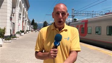 Moradores de Sochi se preparam para receber a seleção brasileira na Copa