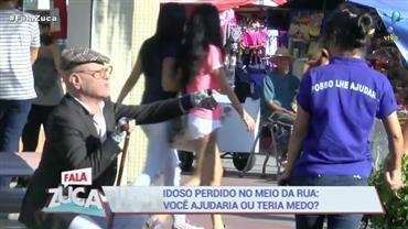 Teste de Solidariedade: Será que pedestres ajudam idoso nas ruas?