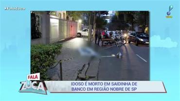 """Idoso é morto em """"saidinha de banco"""" em região nobre de SP"""
