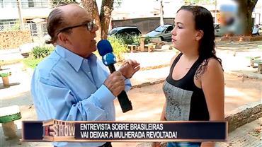 Tiozinho quase apanha ao fazer pergunta desagradável na hora da entrevista