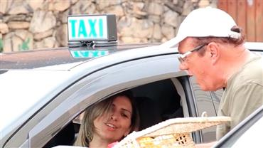 Motorista vira taxista sem saber e arranja briga no meio do trânsito