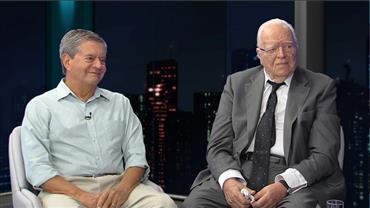 José Gregori, ex-ministro da Justiça, e Coronel José Vicente da Silva Filho