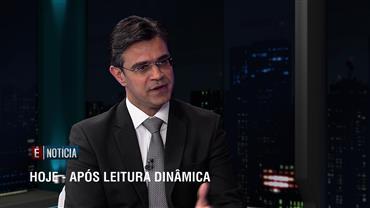 """""""É Notícia"""" recebe o líder do DEM na Câmara, Rodrigo Garcia"""