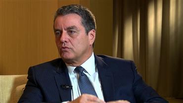 """""""É Notícia"""" recebe Roberto Azevêdo, diretor da OMC"""