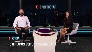 """""""É Notícia"""" recebe o prefeito de São Paulo Bruno Covas nesta segunda (16)"""