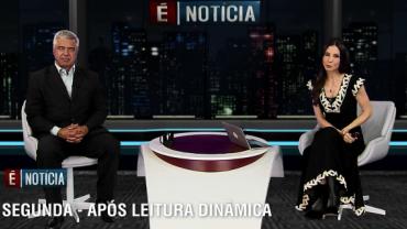 Major Olimpio (PSL) é o entrevistado do 'É Notícia' desta segunda (5)