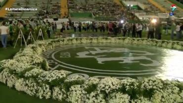 Arena Condá prepara homenagem para vítimas de acidente da Chapecoense
