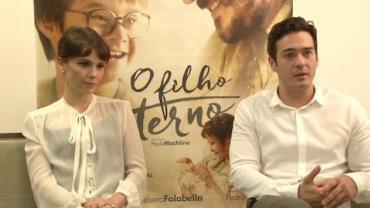 """Marcos Veras e Débora Falabella falam sobre o filme """"O Filho Eterno"""""""