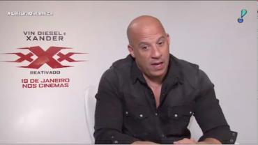 """Vin Diesel diz que atuou em novo """"Triplo X"""" porque """"precisava se divertir"""""""