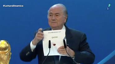 Fifa divulga relatório sobre escolha de sedes de duas Copas