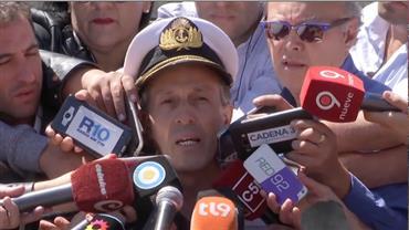 Argentina comunica que submarino desaparecido tem mais 24 horas de oxigênio