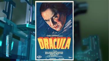 Pôster raro de 'Drácula' de 1931 é leiloado por quase R$ 2 milhões