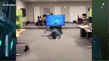 Programador faz personagem icônico do terror sair de televisão