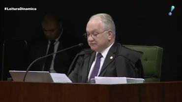 Fachin rejeita levar para a corte do STF recurso de Lula contra prisão