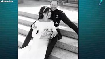 Família Real divulga outras fotos do casamento de Harry e Meghan