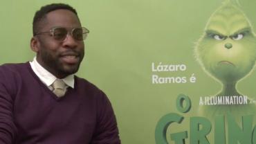 """Lázaro Ramos conta o que esperar da animação """"O Grinch"""""""