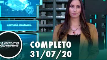 Assista à íntegra do RedeTV News de 01 de Agosto de 2020