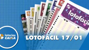 Resultado da Lotofácil - Concurso nº 1917 - 17/01/2020