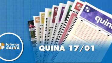 Resultado da Quina - Concurso nº 5173 - 17/01/2020