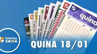 Resultado da Quina - Concurso nº 5174 - 18/01/2020