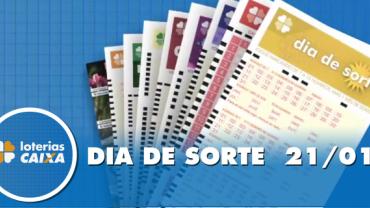 Resultado do Dia de Sorte - Concurso nº 254 - 21/01/2020