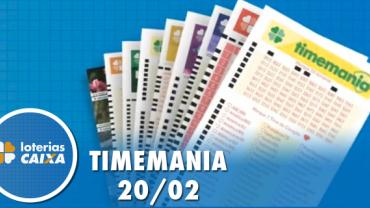 Resultado da Timemania - Concurso nº 1448 - 20/02/2020