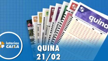 Resultado da Quina - Concurso nº 5203 - 21/02/2020