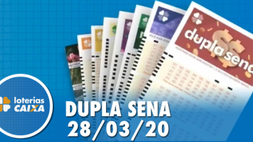 Resultado Dupla Sena - Concurso nº 2068 - 28/03/2020