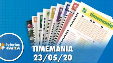 Resultado da Timemania - Concurso nº 1488 - 23/05/2020
