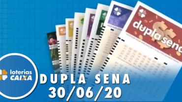 Resultado da Dupla Sena concurso nº 2098 - 30/06/2020