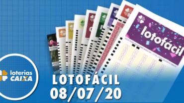 Resultado Lotofácil - Concurso nº 1990 - 08/07/2020