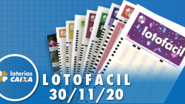 Resultado da Lotofácil - Concurso nº 2095 - 30/11/2020