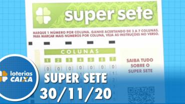 Resultado da Super Sete - Concurso nº24   -  30/11/2020