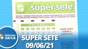 Resultado da Super Sete - Concurso nº 102 - 09/06/2021