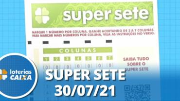 Resultado da Super Sete - Concurso nº 124 - 30/07/2021