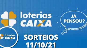 Loterias CAIXA: Super Sete, Lotofácil e Quina 11/10/2021