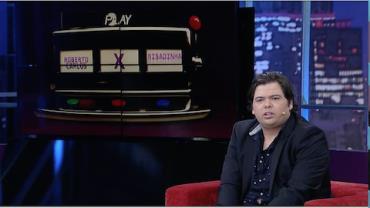 Gustavo Mendes aceita desafio e canta com as vozes de suas imitações