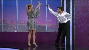 Nani Venâncio arrasa na dança flamenca a dá dicas a Luciana Gimenez