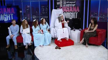 Luciana Gimenez recebe Inri Cristo