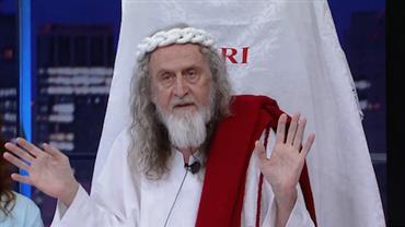 """Inri Cristo dá resposta 'incomum' ao revelar sua comida favorita: """"Vinho"""""""