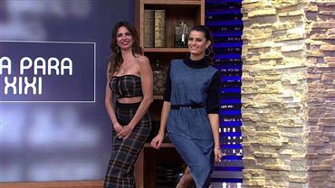 "Isabeli Fontana é a convidada desta terça (20) do ""Luciana By Night"""