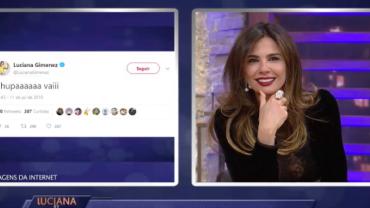 Luciana Gimenez comenta as postagens que deram o que falar durante a Copa
