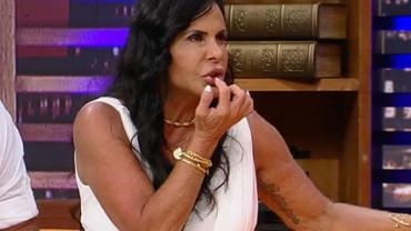 """Gretchen revela ter feito redução de lábio: """"Tira um pedaço e une de novo"""""""