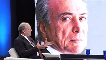 """Ciro Gomes acusa: """"O Temer é o chefe da quadrilha"""""""