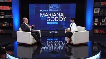 Mariana Godoy recebe o presidenciável Ciro Gomes - Íntegra